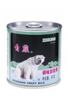 自熊调味甜奶素